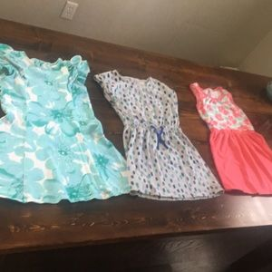 Girls size 5/6 Gymboree dresses like new